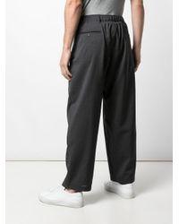 メンズ Engineered Garments ワイドパンツ Black
