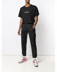 メンズ Represent トラックパンツ Black