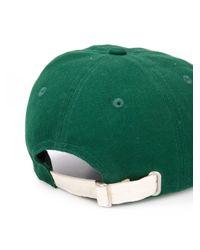 メンズ CASABLANCA ベースボールキャップ Green