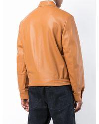 Chaqueta con cremallera Loewe de hombre de color Brown