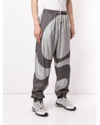 Pantalones de chándal de tejido aislante de Liam Hodes x Ellesse Liam Hodges de hombre de color Gray