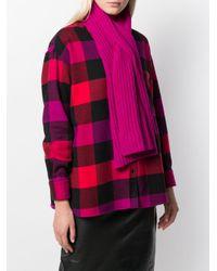Pringle of Scotland インターロッキング スカーフ Pink