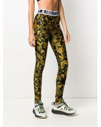 Versace Jeans バロックプリント レギンス Multicolor