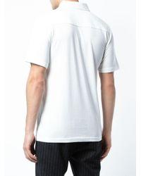 Polo Eric di Onia in White da Uomo