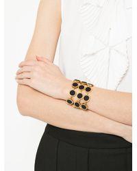 Jil Sander Metallic Circle Bracelet