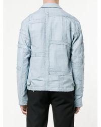 By Walid Blue Julien Jacket for men