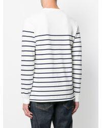 Polo Ralph Lauren - White Striped Long Sleeve Shirt for Men - Lyst