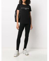 John Richmond ロゴ Tシャツ Black