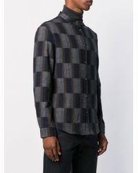 Stephan Schneider 'Pine' Hemd in Black für Herren