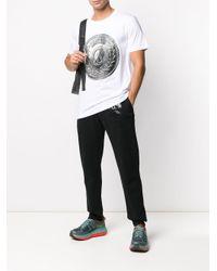 Moschino Jogginghose mit doppeltem Fragezeichen in Black für Herren