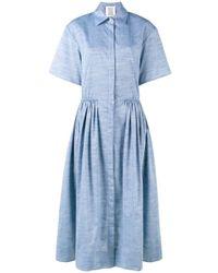 Robe-chemise The Og Rosie Assoulin en coloris Blue
