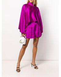 Платье С Драпировкой И Высоким Воротником Styland, цвет: Pink