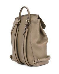 Bally Gray New Backpack