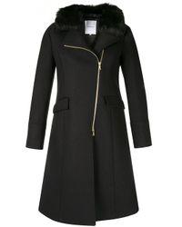 Cappotto con chiusura decentrata di Loveless in Black