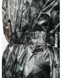 メンズ Fendi グラフィック トレンチコート Multicolor