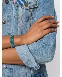 M. Cohen - Blue Multi Strand Beaded Bracelet - Lyst