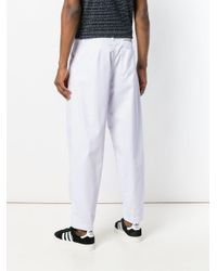 Societe Anonyme White Japboy Trousers