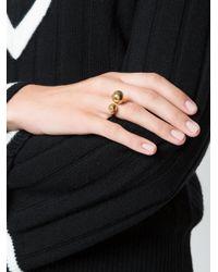 Chloé - Metallic Bauble Ring - Lyst