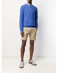 メンズ Polo Ralph Lauren ロゴエンブロイダリー セーター Blue