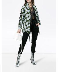 Off-White c/o Virgil Abloh Black Floral Military Jacket