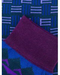 Носки С Принтом Логотипа Etro для него, цвет: Blue