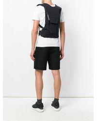 Y-3 Black Ultra Run Backpack for men