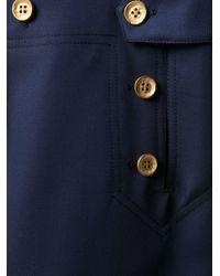 Ports 1961 Blue Marina A-line Skirt