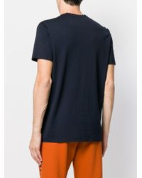 Low Brand Blue Crew Neck T-shirt for men