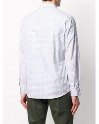 メンズ A.P.C. チェック シャツ White