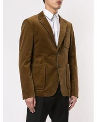 Blazer en velours côtelé N°21 pour homme en coloris Brown