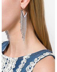 Boucles d'oreilles à ornements Isabel Marant en coloris Metallic