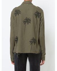 Chemise Palm Amiri en coloris Green