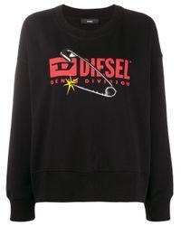 DIESEL F-magda スウェットシャツ Black