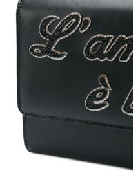 Dolce & Gabbana スローガン クロスボディバッグ Multicolor