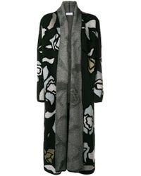 Christian Wijnants Black Kavia Knitted Longline Coat