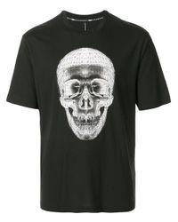 メンズ Neil Barrett ジオメトリック Tシャツ Black