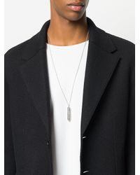 Tom Wood - Metallic Bullet Necklace for Men - Lyst