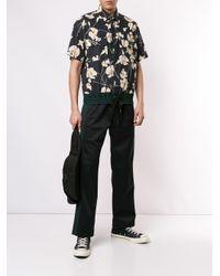 メンズ N°21 ドローストリングヘム シャツ Black