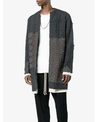 By Walid - Gray Alex Floral Crochet Coat for Men - Lyst