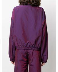 Alexander Wang オーバーサイズ ウィンドブレーカー Purple