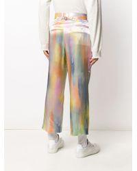 メンズ Sies Marjan アブストラクトプリント パンツ Multicolor