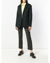 Prada Black Blazer im Oversized-Look