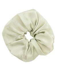 Jennifer Behr Green Draped Scrunchie