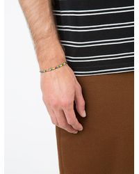 Luis Morais - Multicolor Mini Palm Tree Barrel Beaded Bracelet for Men - Lyst