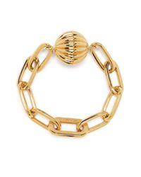 Lanvin Metallic Arpege Bracelet