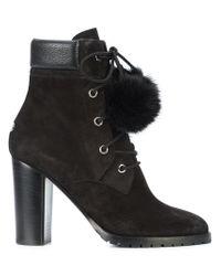 Jimmy Choo Black Elba 95 Boots