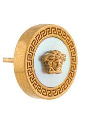 Versace Ohrringe mit Medusa in Metallic für Herren