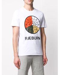 メンズ Raeburn Parachute Tシャツ White