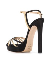 Sandales Lilah 130 Jimmy Choo en coloris Black