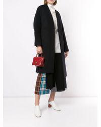 Enfold オーバーサイズ シングルコート Black
